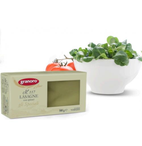 Lasagna Spinaci Semola - 500 gr