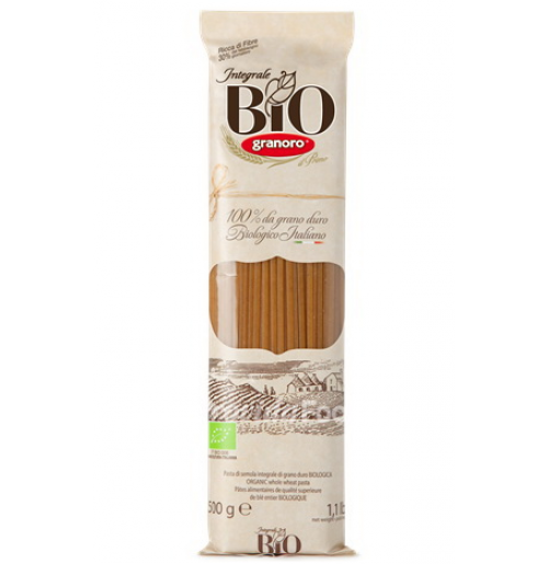 Macarrão Spaghetti Bio Integral - 500 gr (N.12)