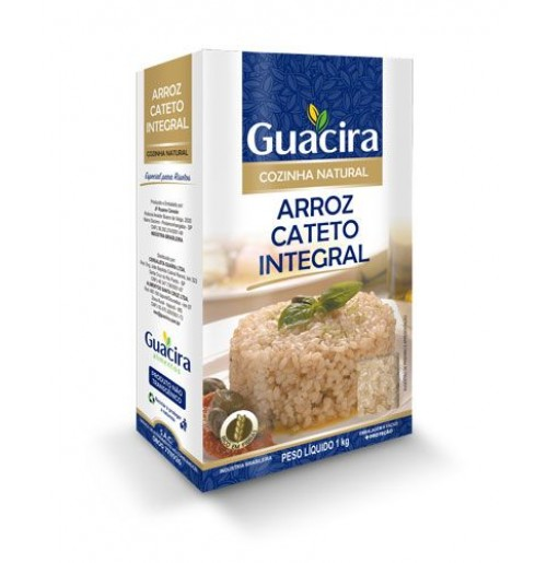 Arroz Guacira Cateto Integral - 1Kg