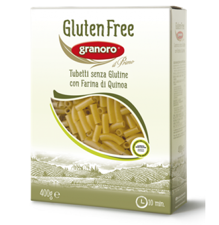 Macarrão Tubetti Gluten Free nº474 - 400g