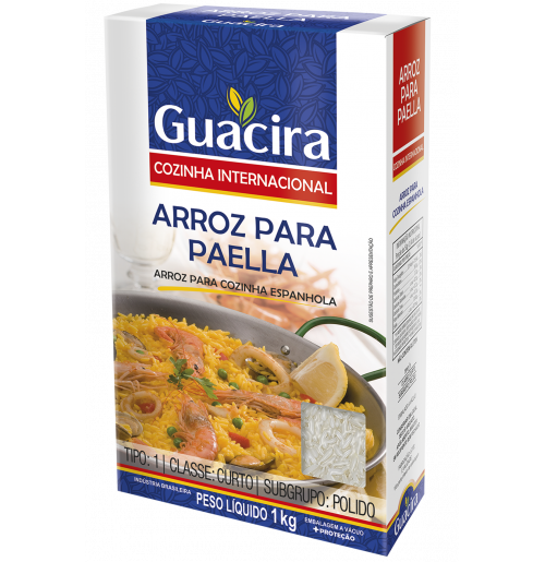 Arroz Guacira Paella - 1Kg