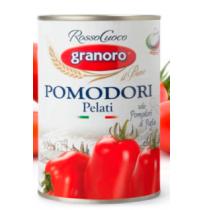 Tomate Pelado Granoro - 400 gr