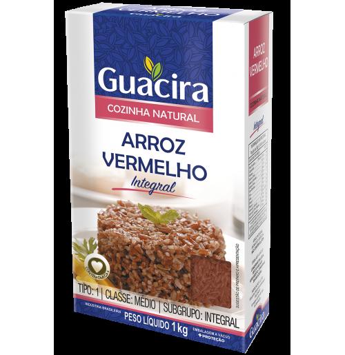 Arroz Guacira Vermelho - 1Kg